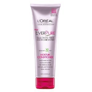 L'Oreal Paris Ever Pure Moisture Conditioner, Rosemary Mint, 8.5 Fluid Ounce