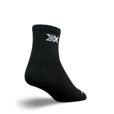 Buy Low Price SockGuy SGX 3in Elite Performance Cycling/Running Socks (B005GLI2G2)