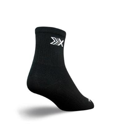 Buy Low Price SockGuy SGX 3in Elite Performance Cycling/Running Socks (B005GLI2G2)