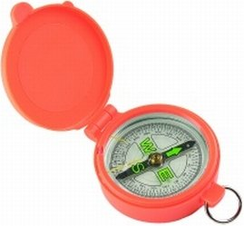 Allen Company Pocket Compass With Lid