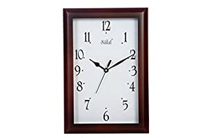 Safal Vertical Beauty Wooden Wall Clock