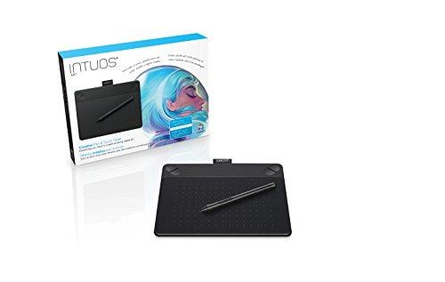 ワコム ペンタブレット  Intuos Art ペン&タッチ 絵画・油彩制作用モデル Sサイズ ブラック CTH-490/K0