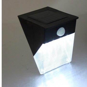 12 Led Solar Power Motion Sensor Pir Wall Garden Path Yard Door Lamp