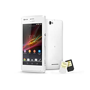 Amazon Sony Xperia M (Dual Sim, White) At Rs 12195