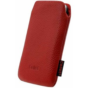 Oriongadgets Leather Madison Case for Apple iPhone 3G Red