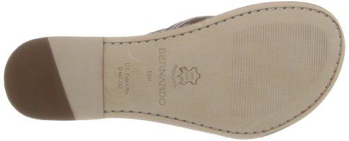 Bernardo Women's Miami Dress Sandal, Pewter Calf, 6.5 M US