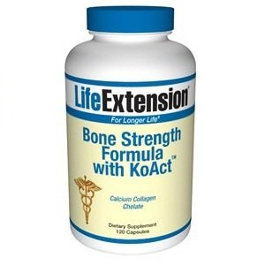 Life Extension, Bone Strength Formula with KoAct, 120 Capsules