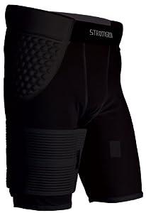 Buy Stromgren Mens Hamstring Compression Short with Neoprene Liner, Strap and Pad by Stromgren
