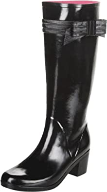 Kate Spade New York Women's Randi Too Rain Boot,Black,5 M US
