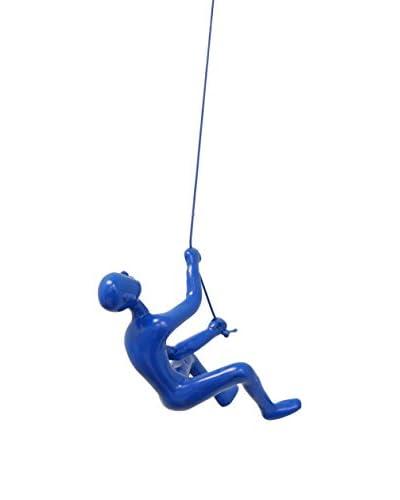Climbing Boy, Blue