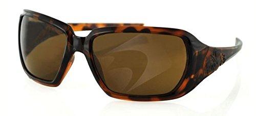 Bobster Scarlet Sunglasses, Tortoise Shell Frame, No Foam Esca102