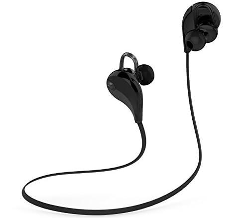 SoundPEATS(サウンドピーツ) ワイヤレス スポーツ ヘッドセット QY7 [並行輸入品] black/black