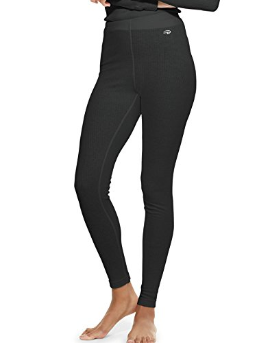 Duofold Women's Mid Weight Wicking Thermal Leggings, Black, Small (Thermal Barrier Pants compare prices)
