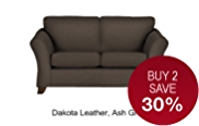 Abbey Small Sofa - Leather