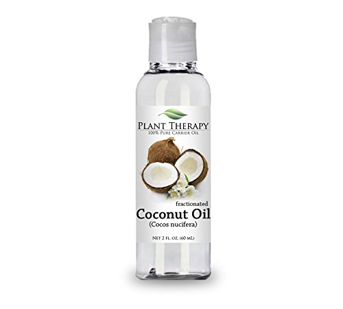 Coconut (Fractionated) Carrier Oil. A Base Oil for Aromatherapy, Essential Oil or Massage use. (2 oz)