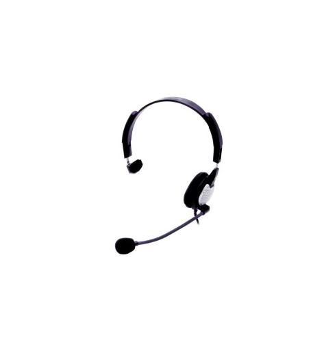 Andrea Electronics Anc-700 Monaural Analog Pc Headset With Microphone