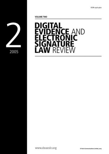 Digital Evidence and Electronic Signature Law Review - Volume 2