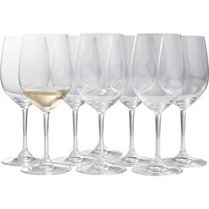 Riedel vinum chardonnay glasses elegant short stem crystal wine glasses 8 pieces - Short stemmed wine glass ...