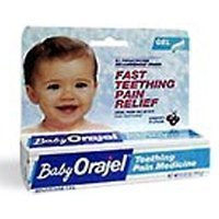 Baby Orajel Teething Pain Medicine .33 oz Gel