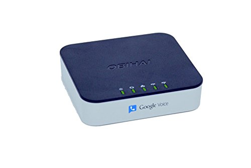 OBi202 VoIP Phone Adapter with Router, 2-Phone Ports, T.38 Fax (Phones To Use With Magic Jack compare prices)