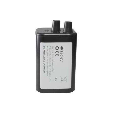 4R 25-6 v 7 ah trockenbatterie pour baulampen weidezäune