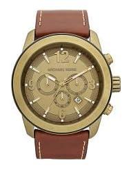 Michael Kors Men's MK8250 XL Runway Brown Watch
