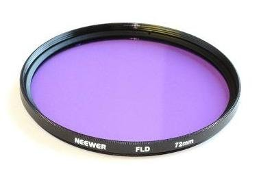 Neewer New 72mm Photographic Lighting 3pc Filter Kit (UV, FLD, CPL) For Any 72mm Lens