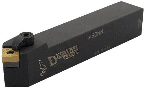 Dorian Tool MSDN Square Shank Multi-Lock Turning Holder, Neutral Cut, 3/4