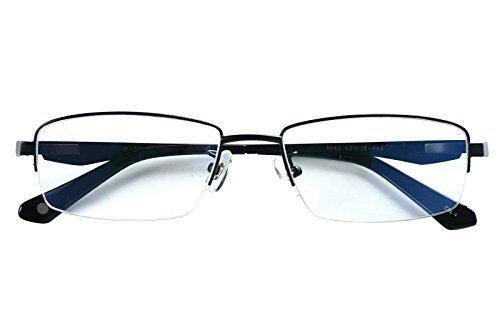 Rimless Glasses Malaysia : Agstum 100% Titanium Half Rimless Glasses Frame Optical ...