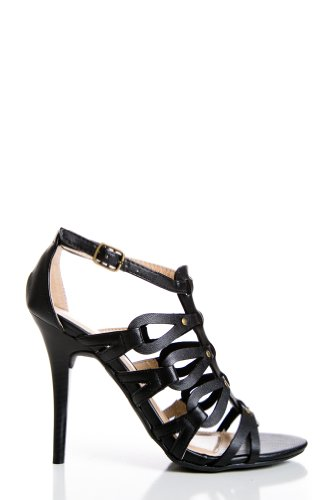 Gladiator Heels in Black