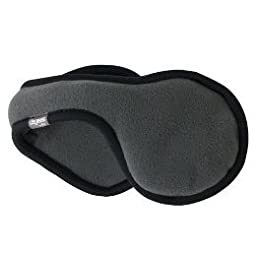 180s Soft Shell Ear Warmer,Charcoal,One Size
