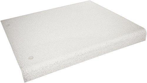 Acrylic Plastic Products Counter Protector with Lip, 15-Inch by 15-Inch (Kitchen Cutting Board Cover compare prices)