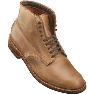 Alden Men's Indy Boot Plain Toe Natural Chrome Excel