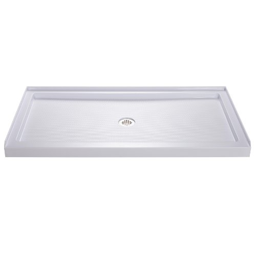 Great Deal! DreamLine  DLT-1136600 SlimLine 36-Inch x 60-Inch Single Threshold Shower Base, White
