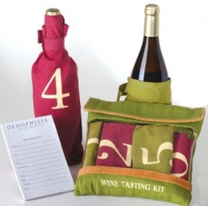 Burlap Blind Wine Tasting Kit