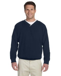 HA MICROFIBER WINDSHIRT (NAVY/ WHITE) (M)