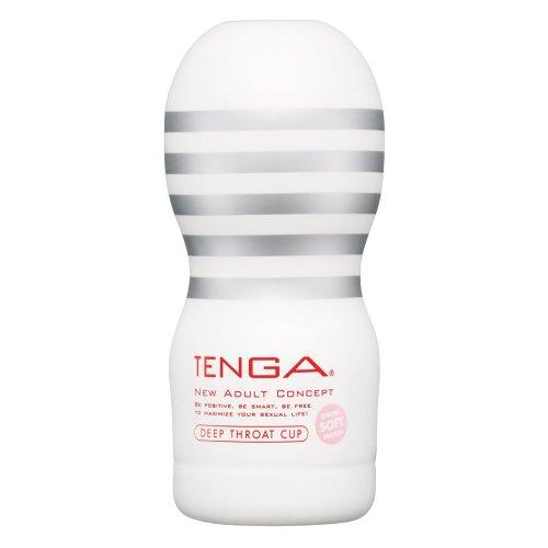 TENGA ディープスロート・カップ ソフト[SOFT] 【ねっとり吸いつく、絡みつく。至福のバキューム】 [アダルト]