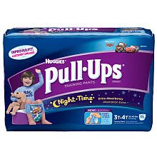 Huggies Pull-Ups Night Time For Boys 3T/4T ~37 Training Pants front-1002208