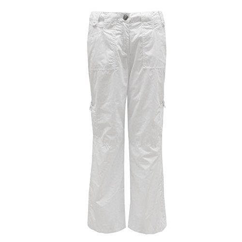 Envy Boutique Women'S Cargo Walking Cotton Boyfriend Wide Trousers Pockets Pants Stone 8 front-1001571