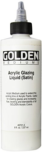 Golden Acrylic Satin Glazing Liquid