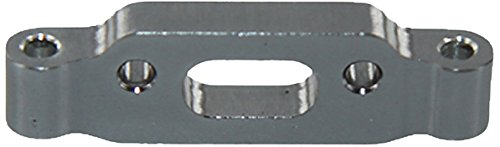 GPM Racing Rear Arm Mount for 1:18 Associated 18B2 + Other AE Models, Grey - 1