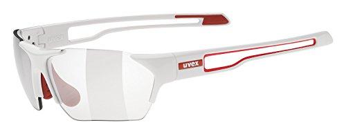 Uvex-Sportsonnenbrille-Sportstyle-202-Small-V-White-RedLens-Variomatic-Smoke-One-Size-5306028301