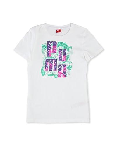 Puma Camiseta Td Graphic Blanco