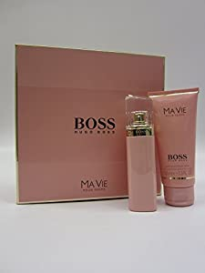 HUGO BOSS MA VIE 50ML EAU DE PARFUM & 100ML PERFUMED BODY LOTION GIFT SET / COFFRET