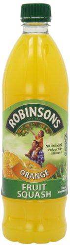 Robinsons Orange Fruit Squash Bottle 1 L (Pack of 12)