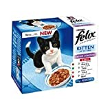 Felix Kitten Mixed Selection Pouch 48 X 100G