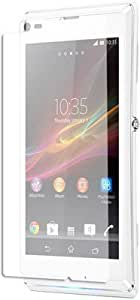 Curve 2.5D TEMPERED GLASS FOR Sony Xperia L + 3 IN 1 Cable Free