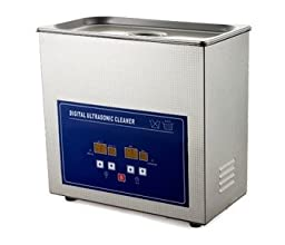 JeKen 6.5L Digital Ultrasonic Cleaner PS-30A with with Timer & Heater Without Basket 110V
