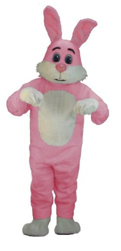 Pink Bugsy Lightweight Mascot Costume