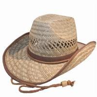 Natural Straw Cowboy Hat.